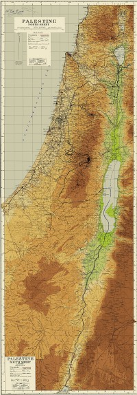Partition boundaries accepted by Israel