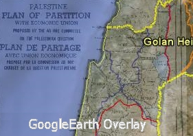1947 Partition Google Earth Overlay