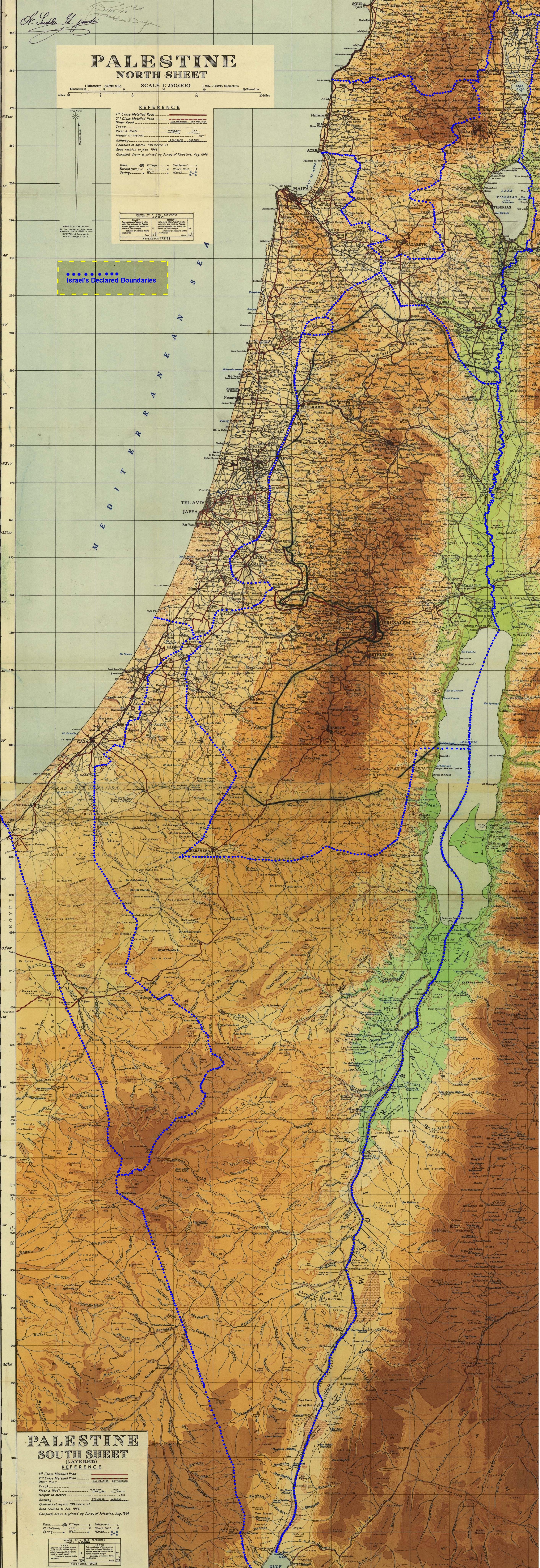 Israel vs the entity of Palestine Is Ashkelon in Israel Maps