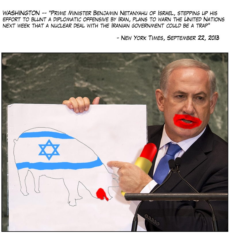 netanyahu UN 2013 01